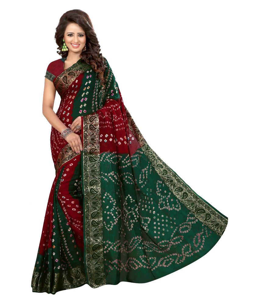 Fab Royal Multicoloured jacquard Saree