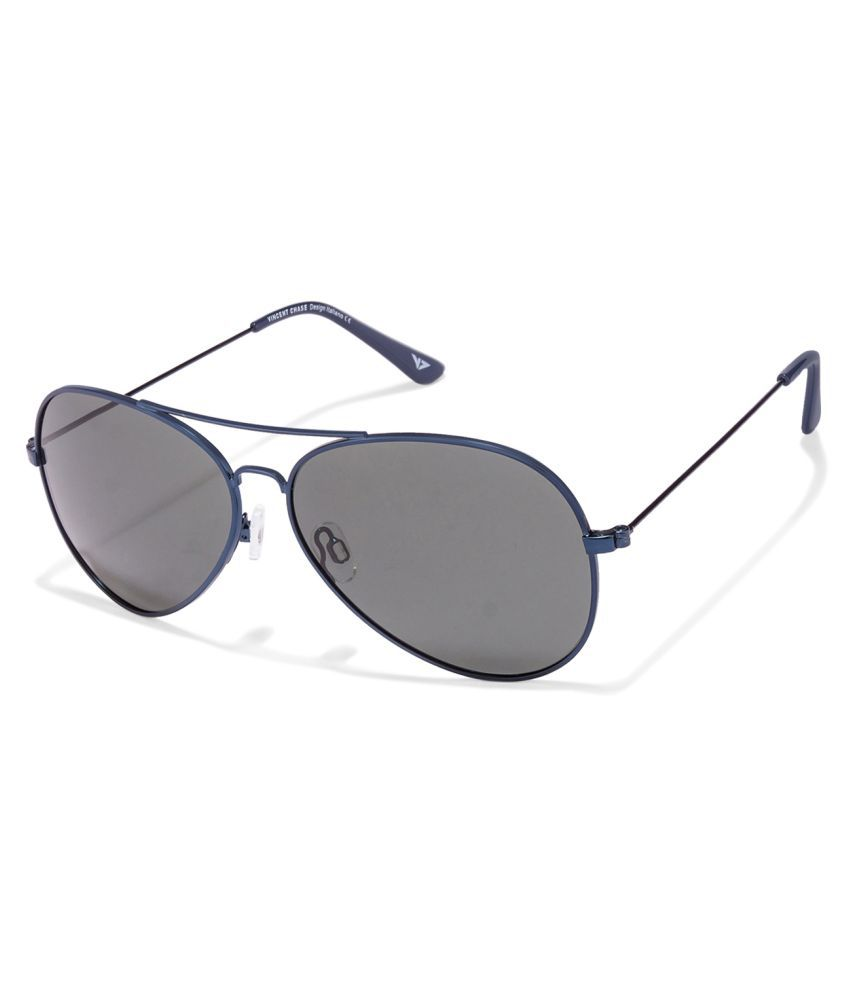 c04f122b477 Black Blue Full Rim Aviator Shape Medium Large Size 58 Vincent Chase  POPSTAR VC 5158 Sunglasses Source · Vincent Chase Grey Aviator Sunglasses VC  S10087 Buy ...