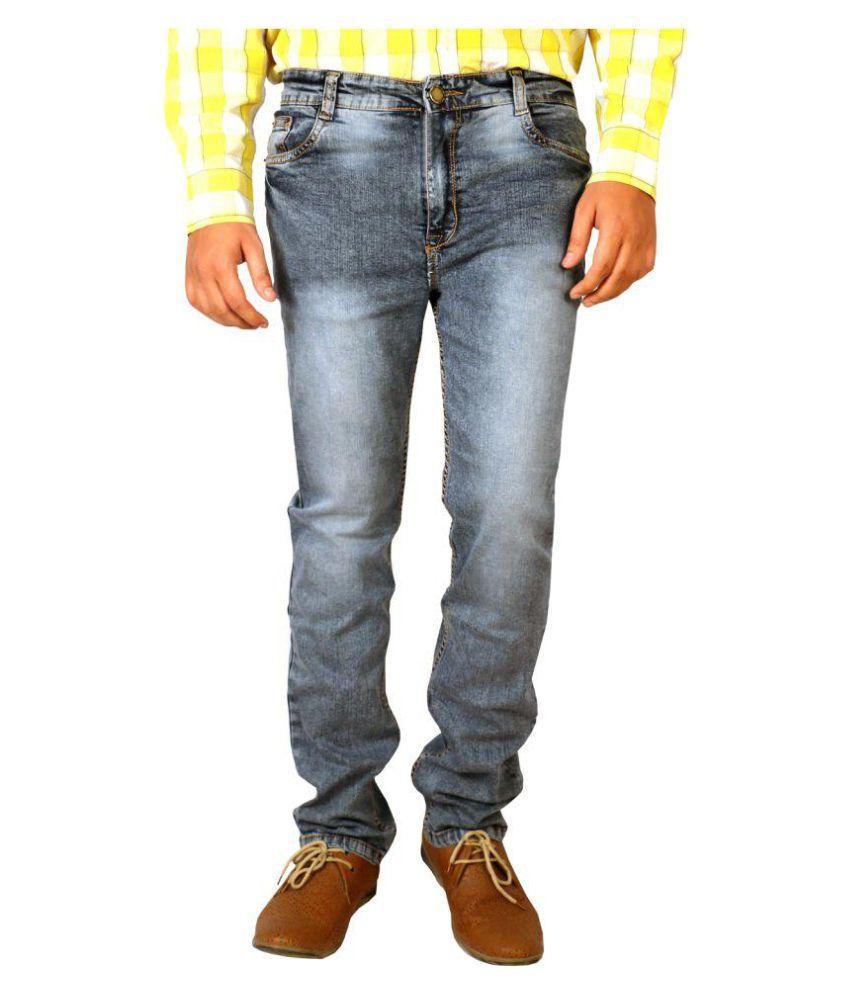 Allen Martin Black Slim Jeans