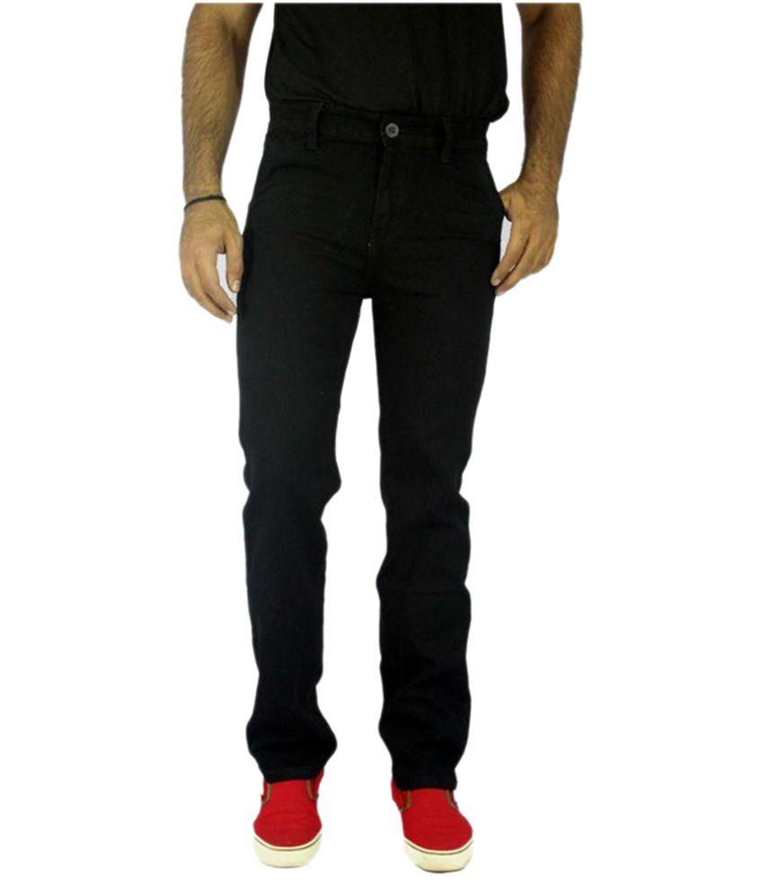 Oxberg Black Regular Fit Jeans