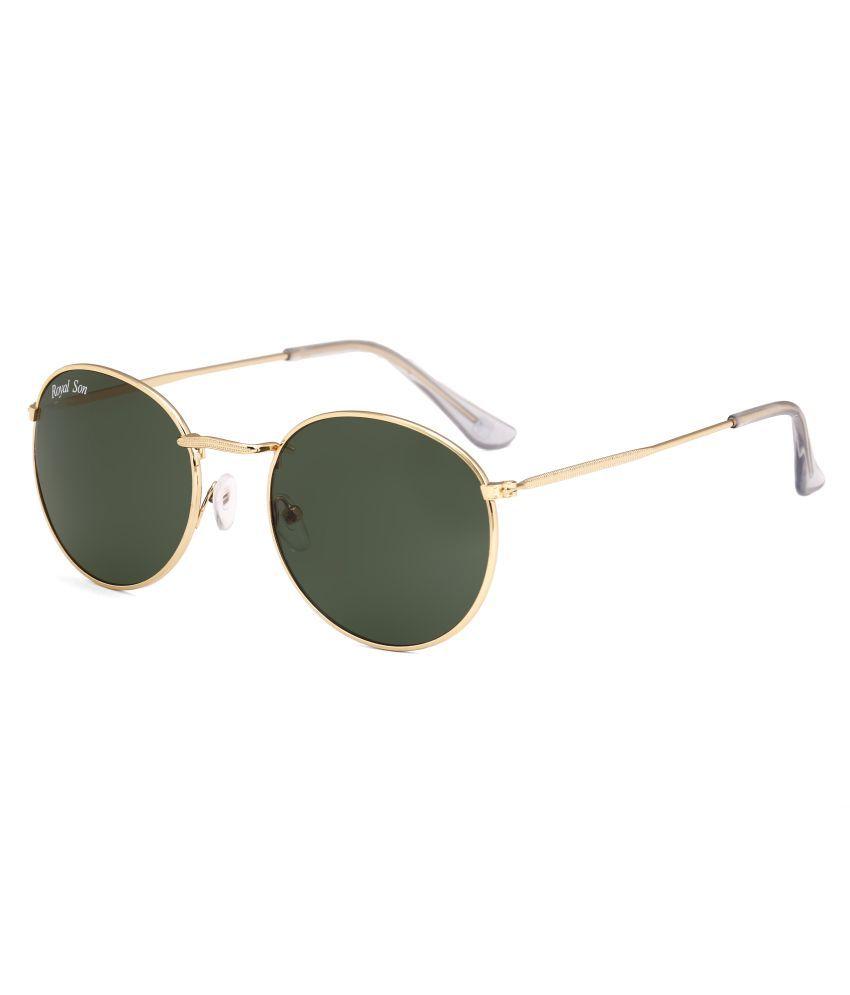 Royal Son Green Round Sunglasses ( RS0032AV )