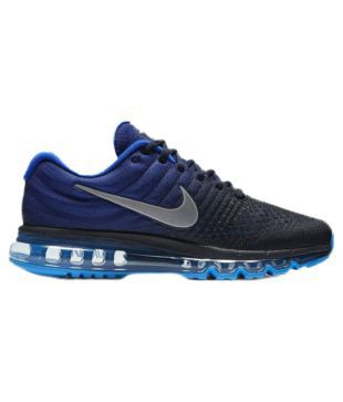 Nike Air Max 2017 Blue Running Shoes - Buy Nike Air Max 2017 Blue Running  Shoes Online at Best Prices in India on Snapdeal d2f5430e8