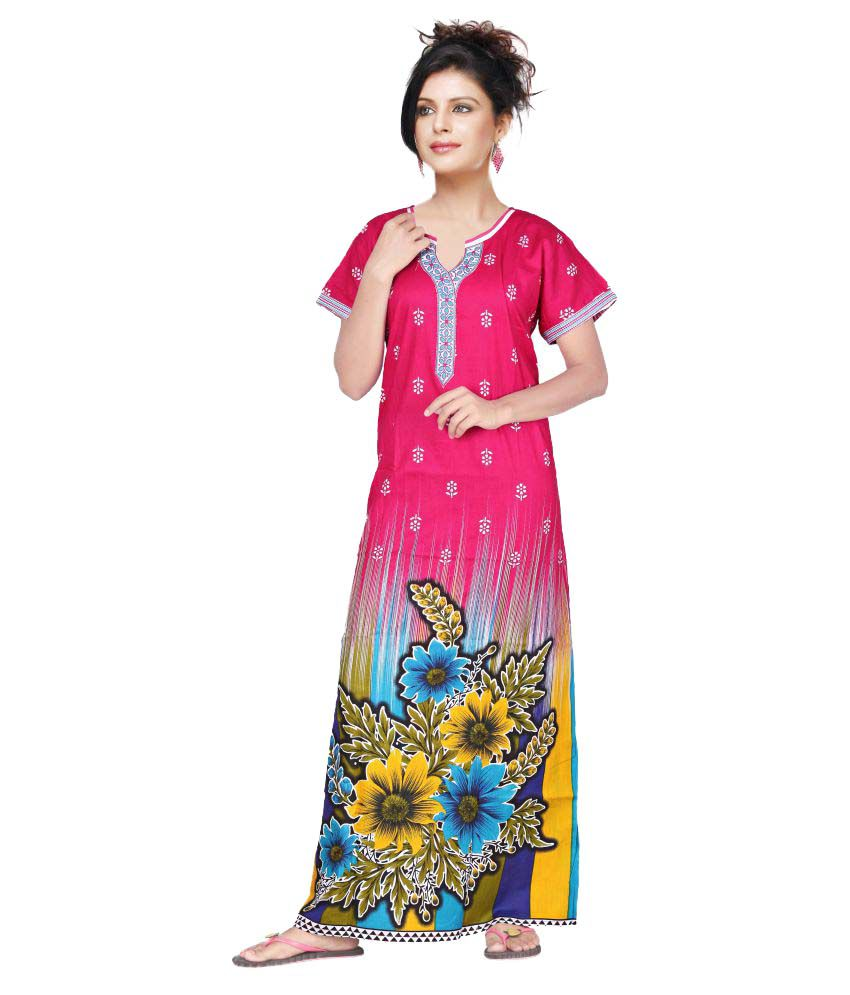 Satyam Cotton Nighty & Night Gowns