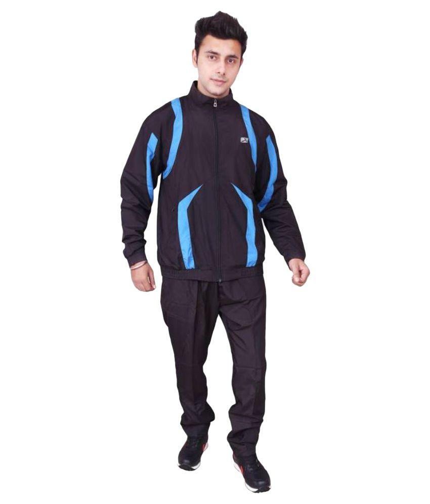 Vector Black Track Suit Set