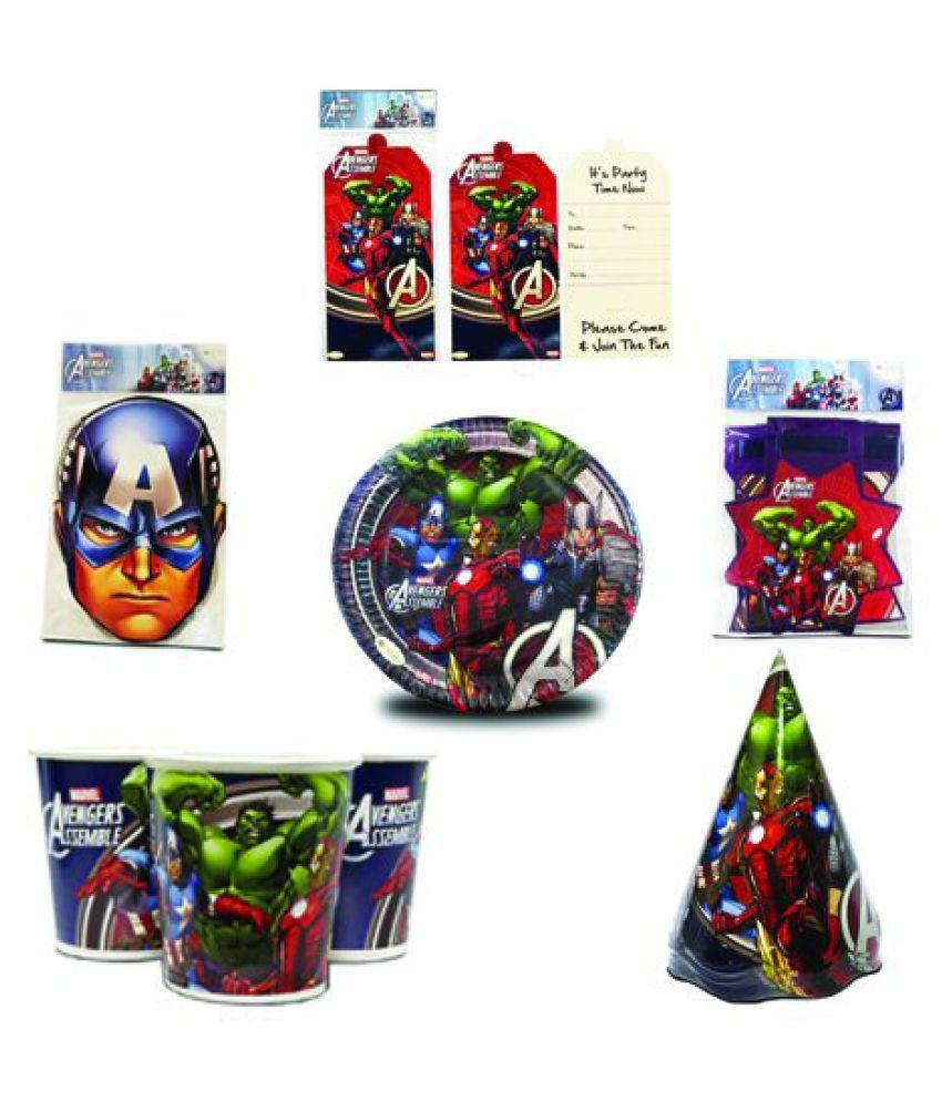 Theme My Party Avengers Party Box MI-AVG-PB-012 , Marvel Avengers ...