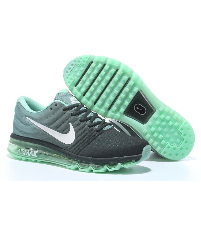 Nike Air Airmax 2017 Green Running Shoes - Buy Nike Air Airmax 2017 ... 90ed6562af69