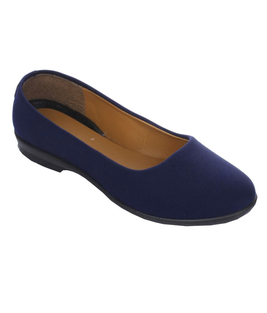 Gliders By Liberty Navy Ballerinas