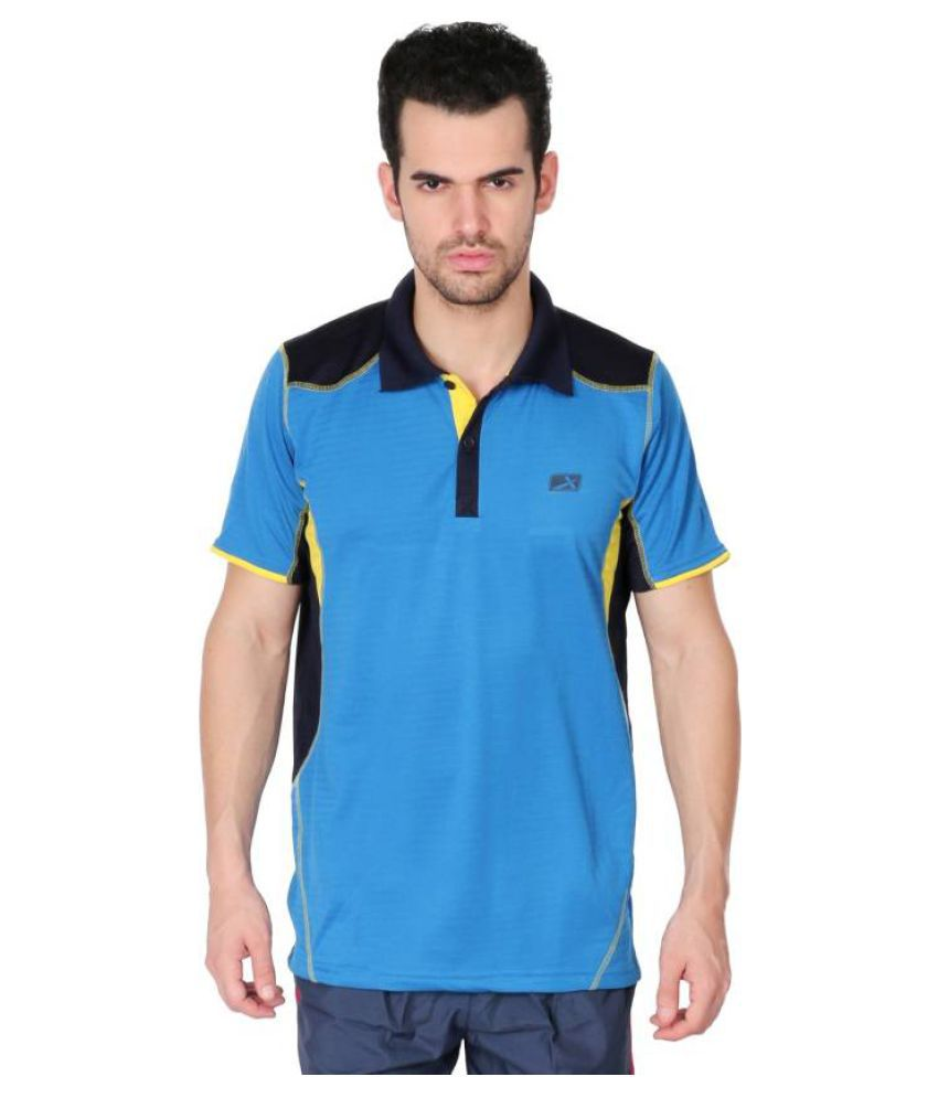 Vector X VTD-029-B Blue Polo T-Shirt