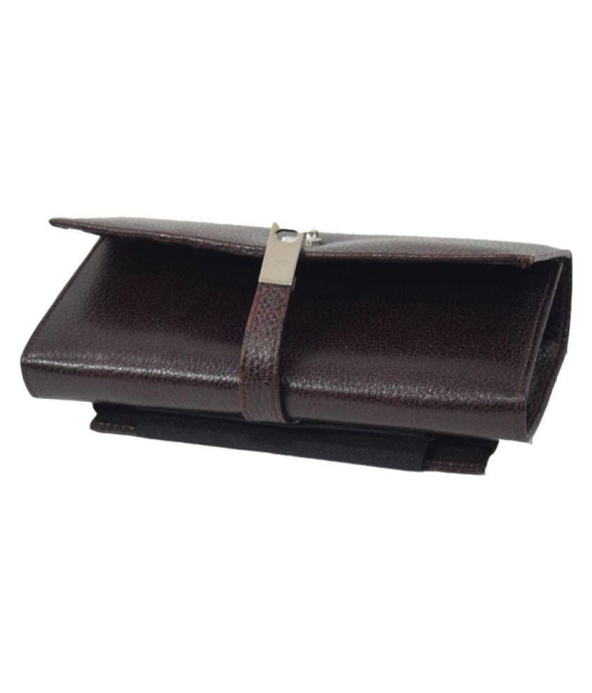 1f1c144577eb9 Buy Six7 Brown Pure Leather Box Clutch at Best Prices in India - Snapdeal