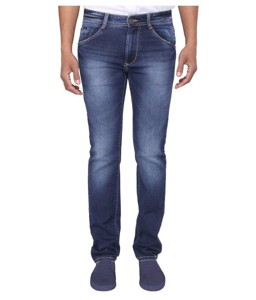 Irony Light Blue Straight Jeans