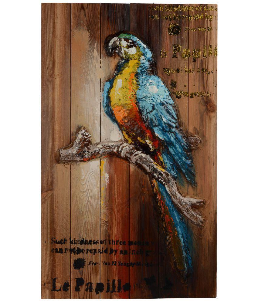 Giftadia Wood Painting With Frame Single Piece