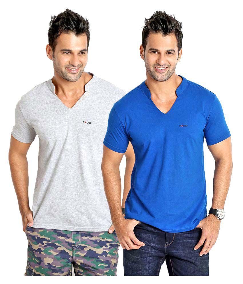 Rodid Multi V-neck T-Shirt