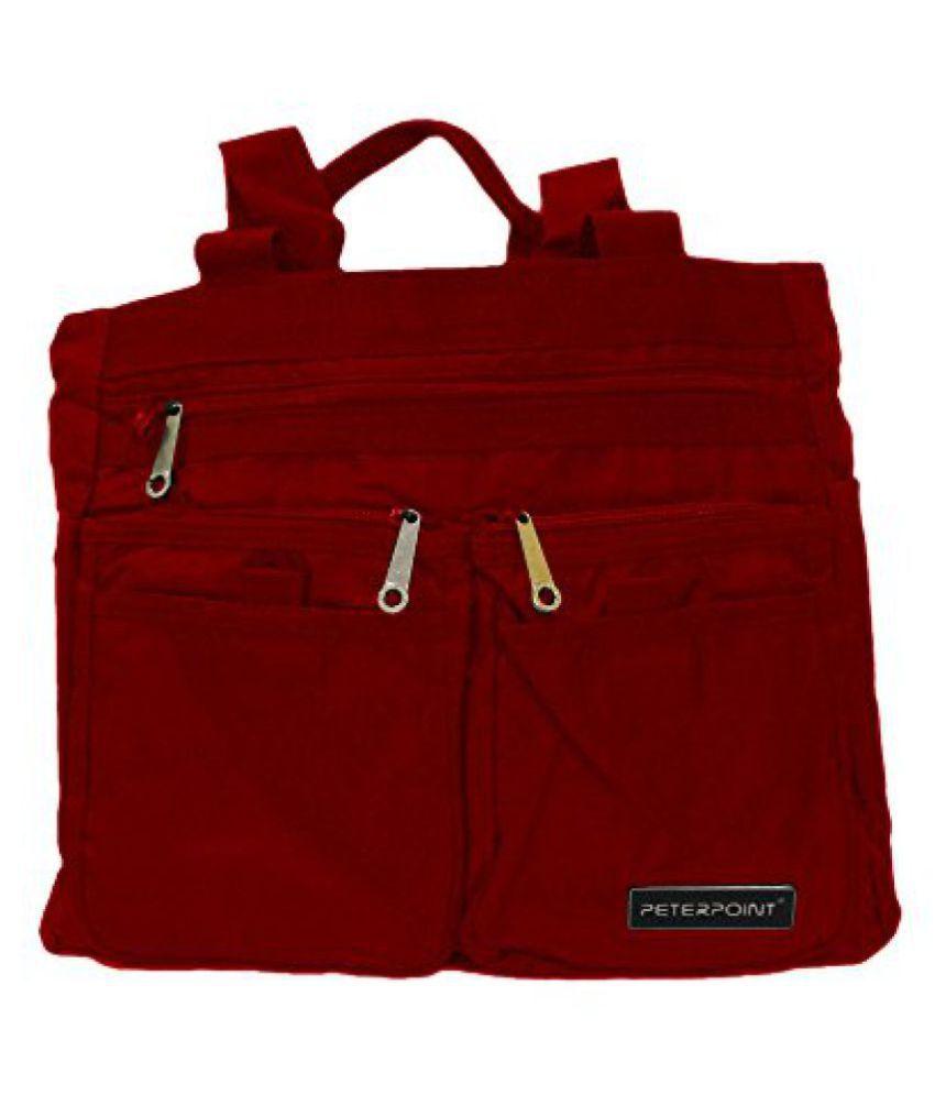 Ruff Womens Handbag (Red,Grv183)