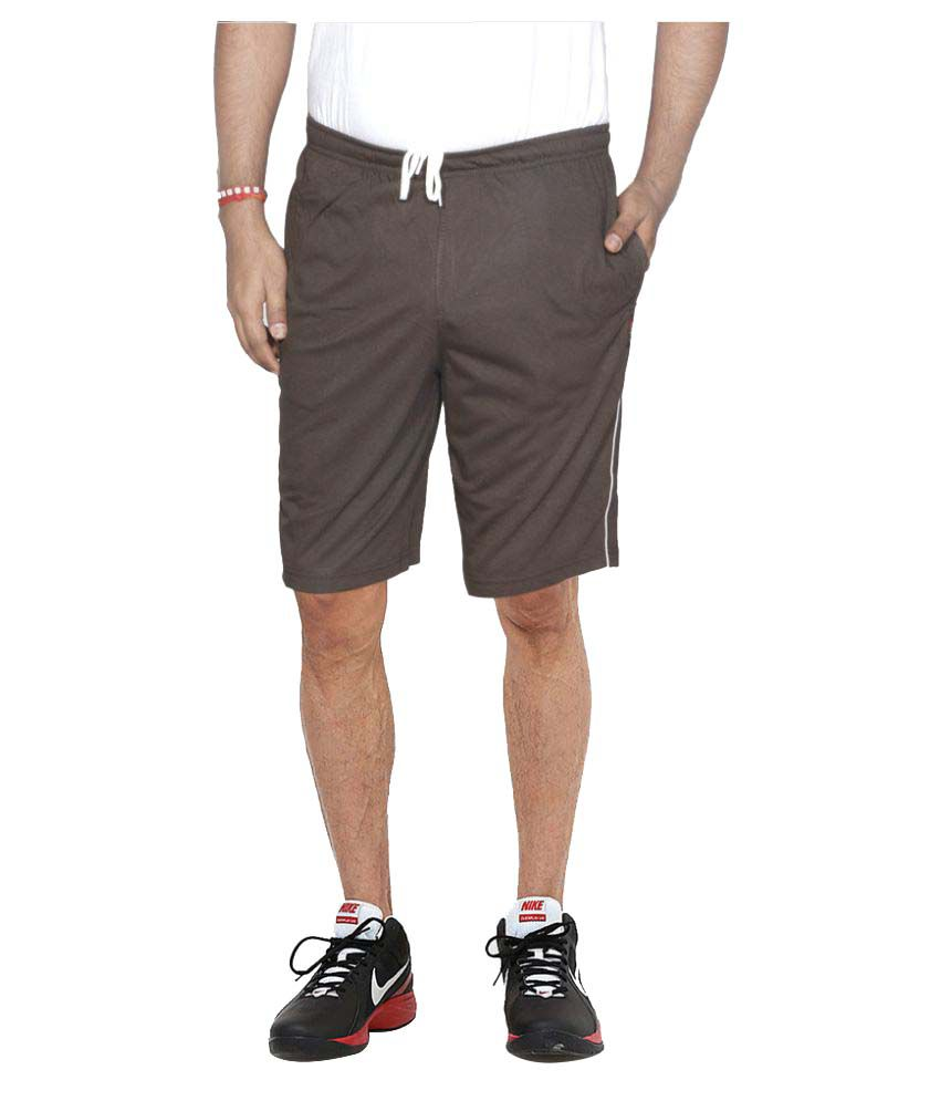 Indiweaves Brown Shorts Pack of 4