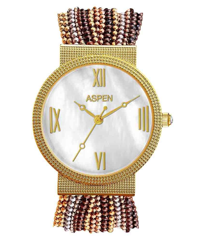 Aspen Feminine Exclusive Multicolour Analog Watch AP1707A