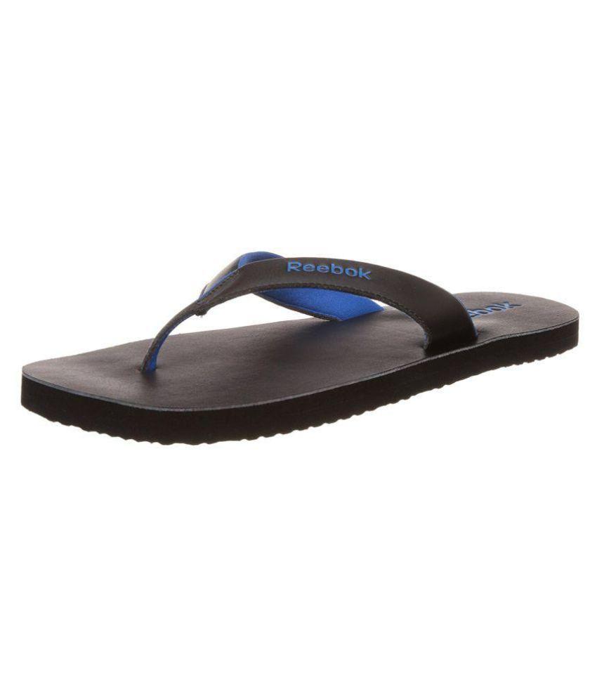26fb57005a49 Reebok Advent II AR1742 Black Thong Flip Flop Price in India- Buy Reebok  Advent II AR1742 Black Thong Flip Flop Online at Snapdeal