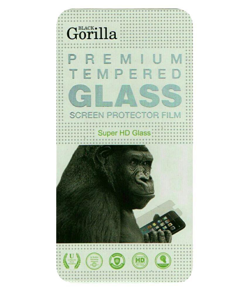 Lava V5 Tempered Glass Screen Guard By Black Gorilla