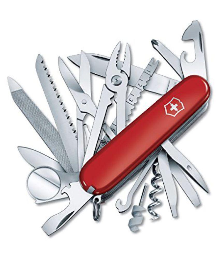 Victorinox Swiss Champ Red Swiss Army Knife  1.6795