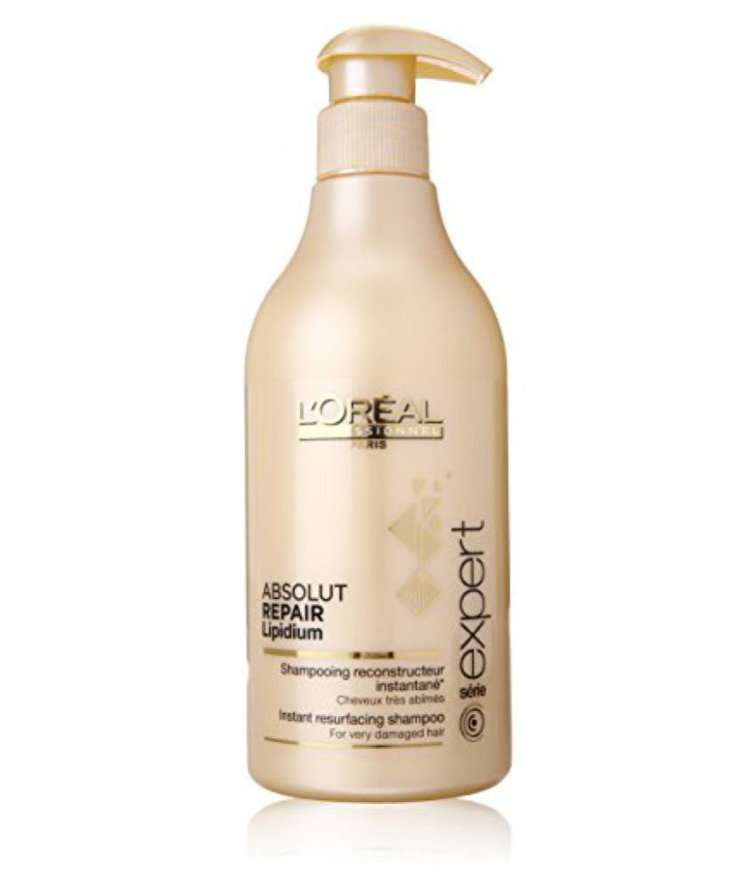 Loreal Professionnel Expert Serie Absolut Repair Lipidium Instant Shampoo Fall Resurfacing For Very Damaged Hair