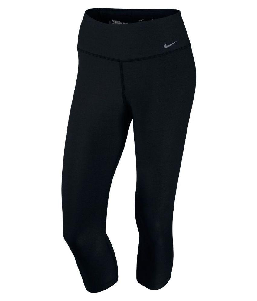 Nike Black Capri