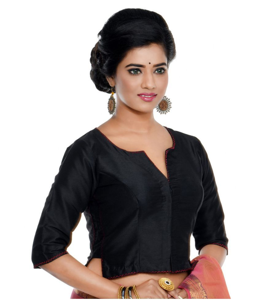 2160761a3edcf1 Rene Black Blouse - Buy Rene Black Blouse Online at Low Price - Snapdeal.com