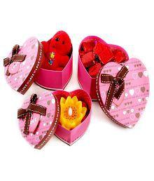 Ghasitaram Gifts Set Of Three Gift Boxes Chocolate Box Chocolate 500 Gm
