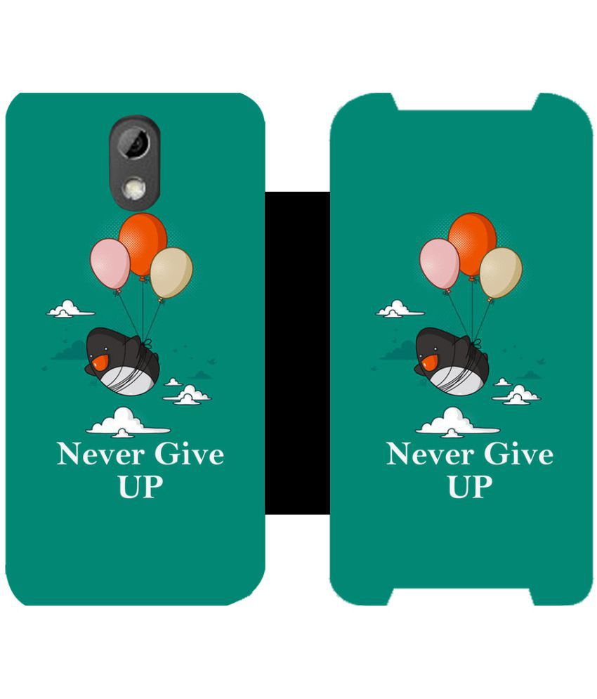 Universal Flip Cover by Skintice - Green
