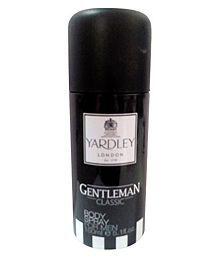 Yardley Gentleman Body Spray For Men, 150ml (Pack Of 2)