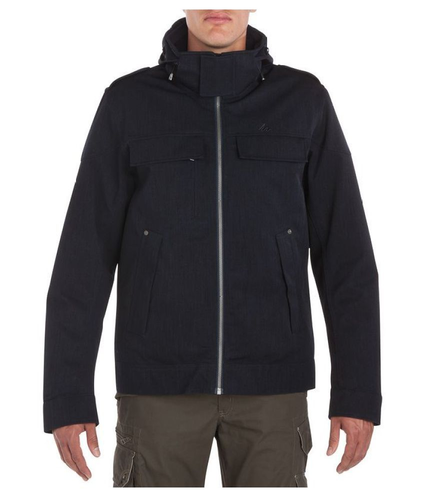 Quechua Dark Grey Hiking Jacket