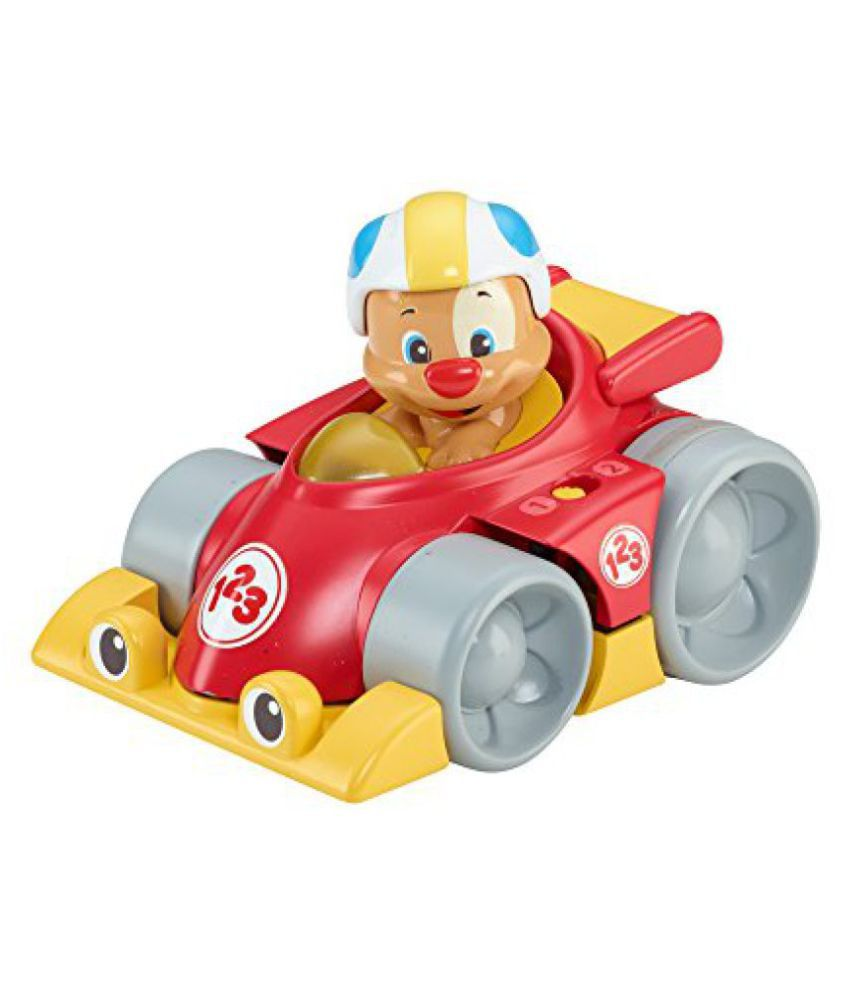 Fisher-Price Laugh and Learn Puppys Press n Go Car