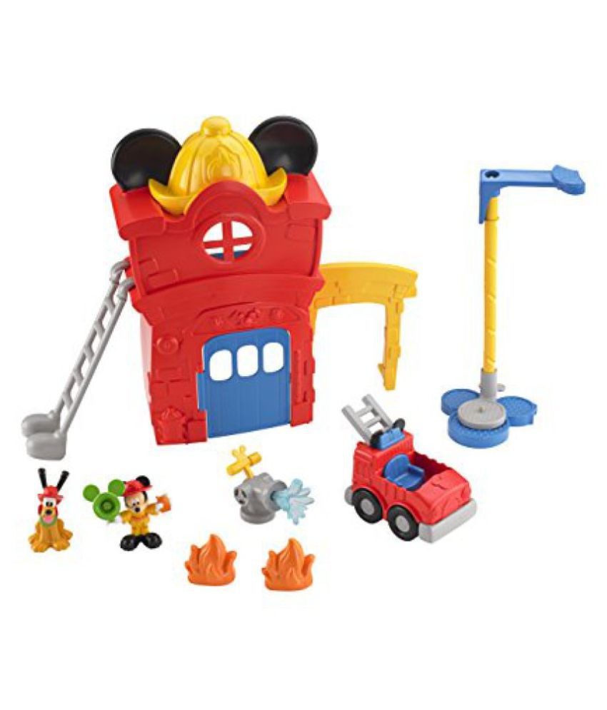 Fisher Price Mickeys Funny Fire Station