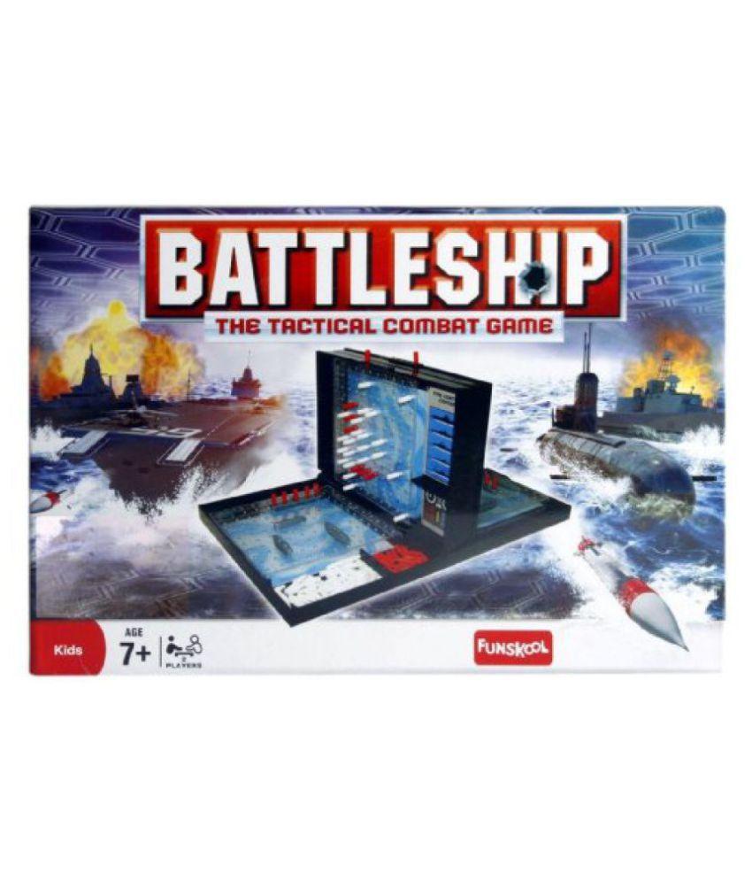 Funskool Battleship - The Tactical Combact Game