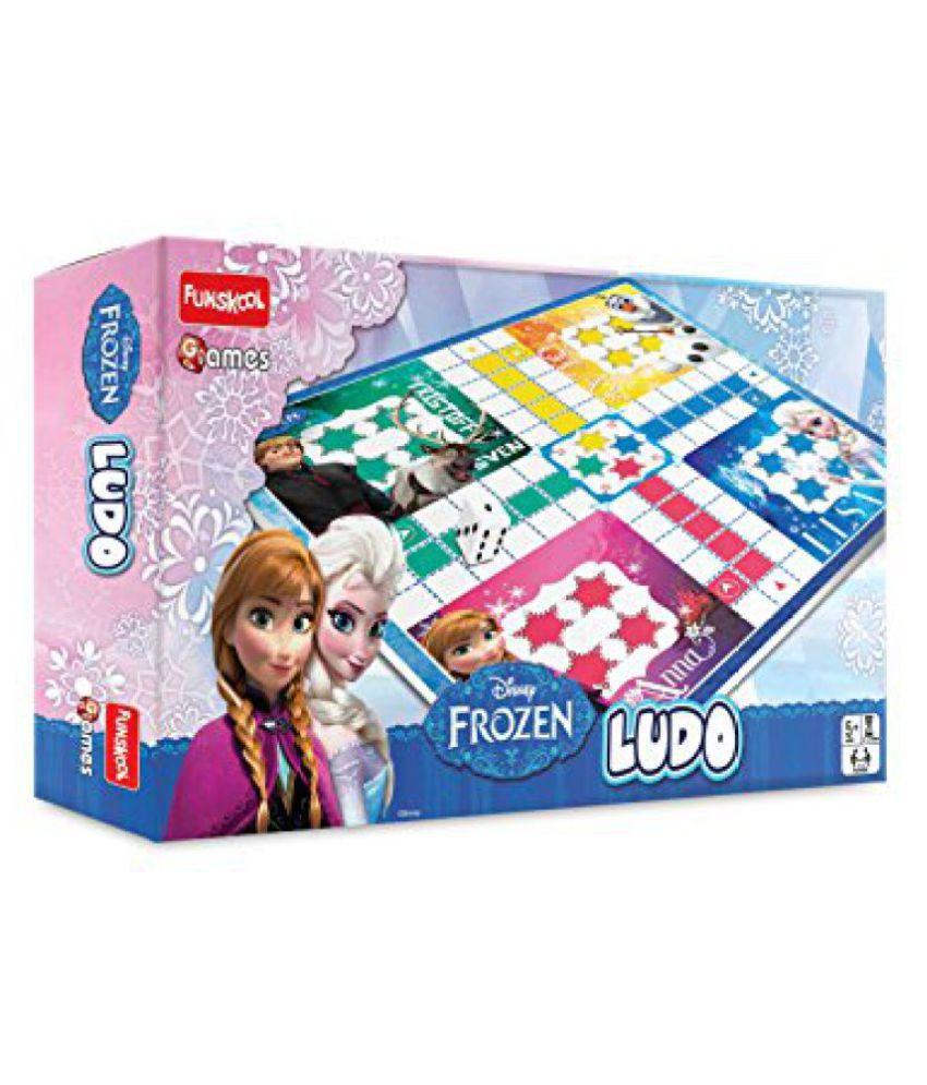 Funskool Disney Frozen Ludo Game, Multi Color