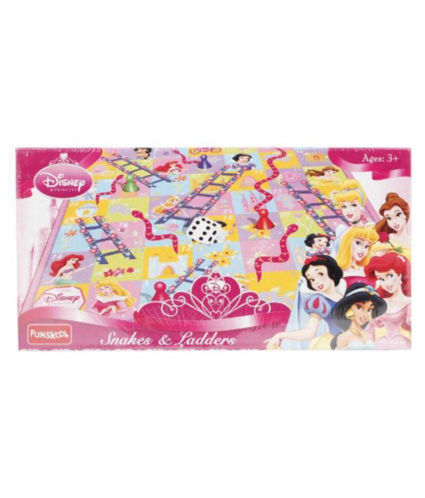 Funskool Disney Princess Snakes and Ladders