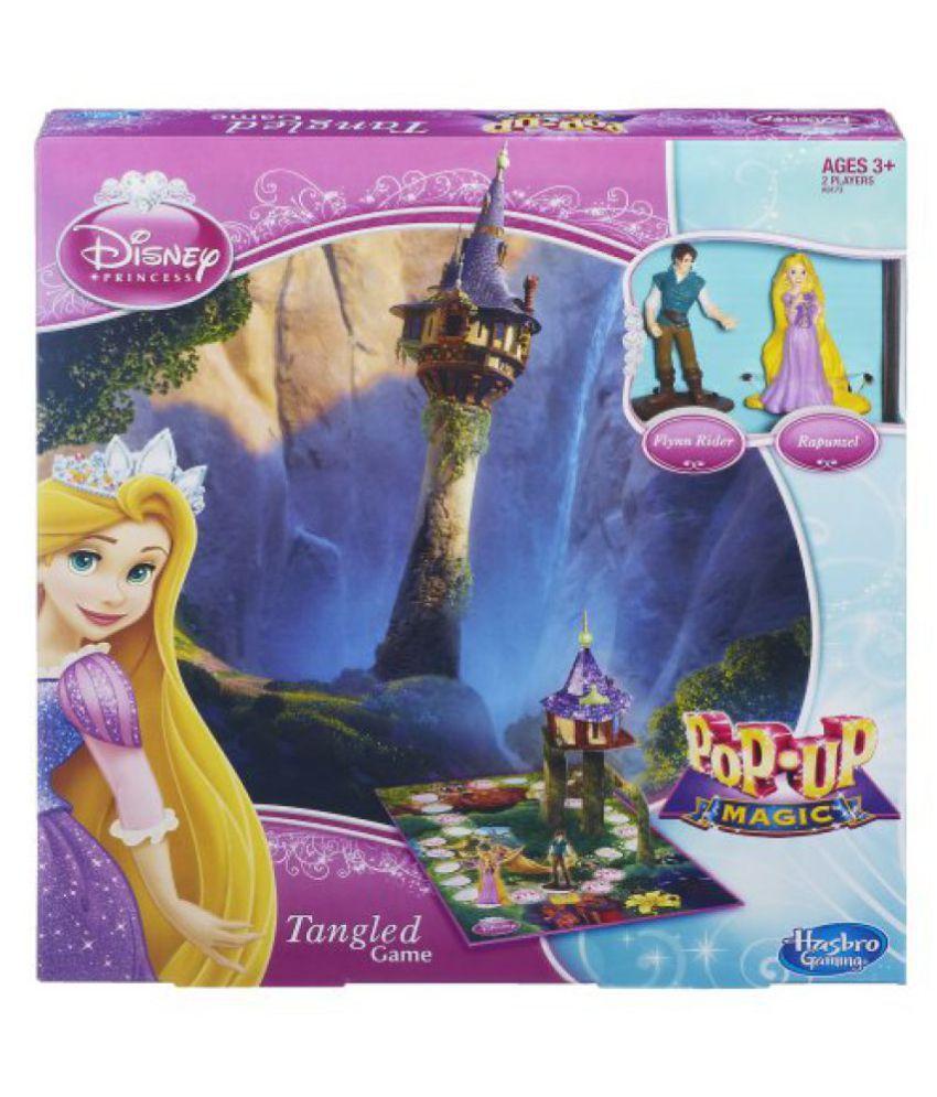Funskool-Hasbro Disney Princess Pop-Up Magic Tangled Game
