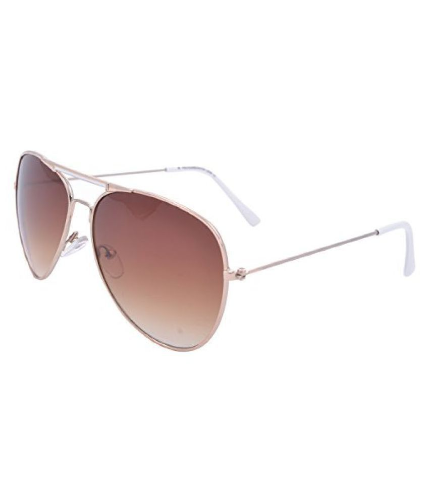 1cb941f60fe Iris Aviator Sunglasses -Gold (IE3101 White) - Buy Iris Aviator Sunglasses  -Gold (IE3101 White) Online at Low Price - Snapdeal