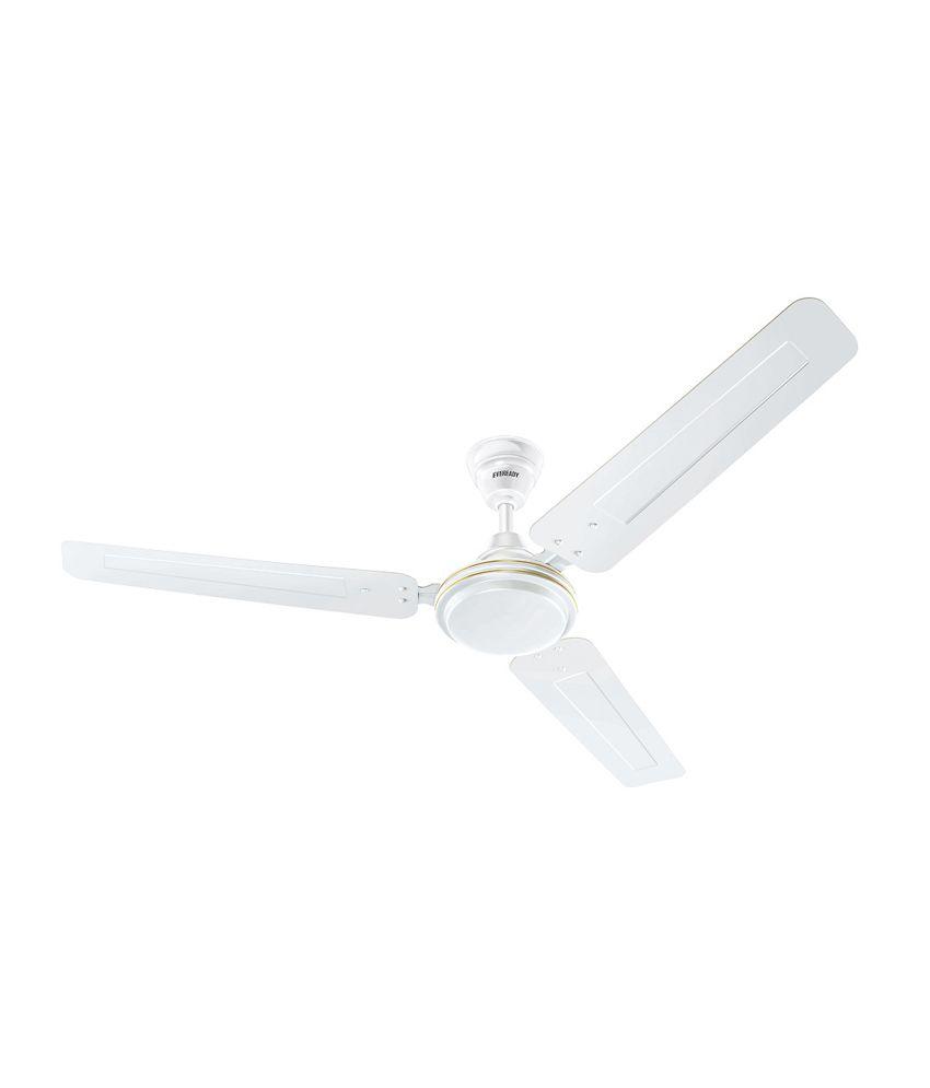 Eveready 1200mm FAB M Ceiling Fan - White