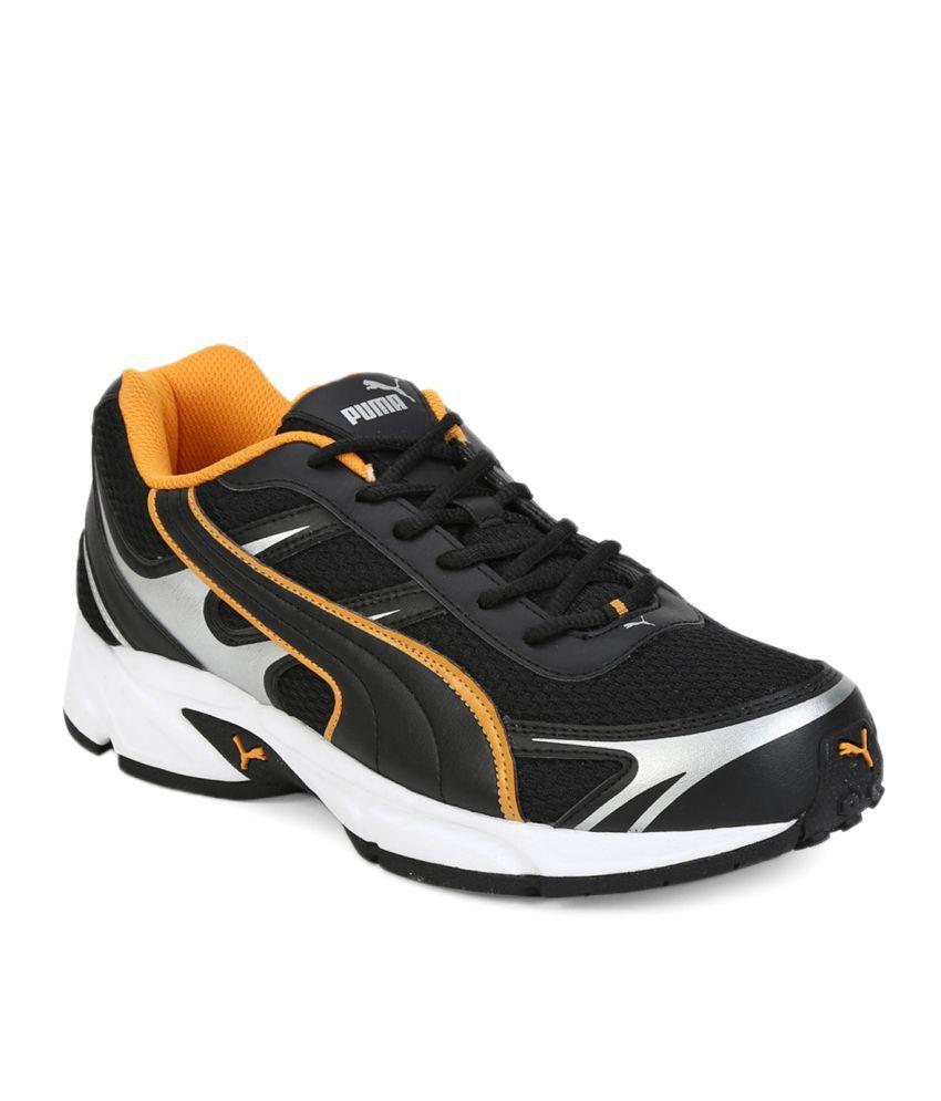 Puma CARLOS Ind. Black Running Shoes