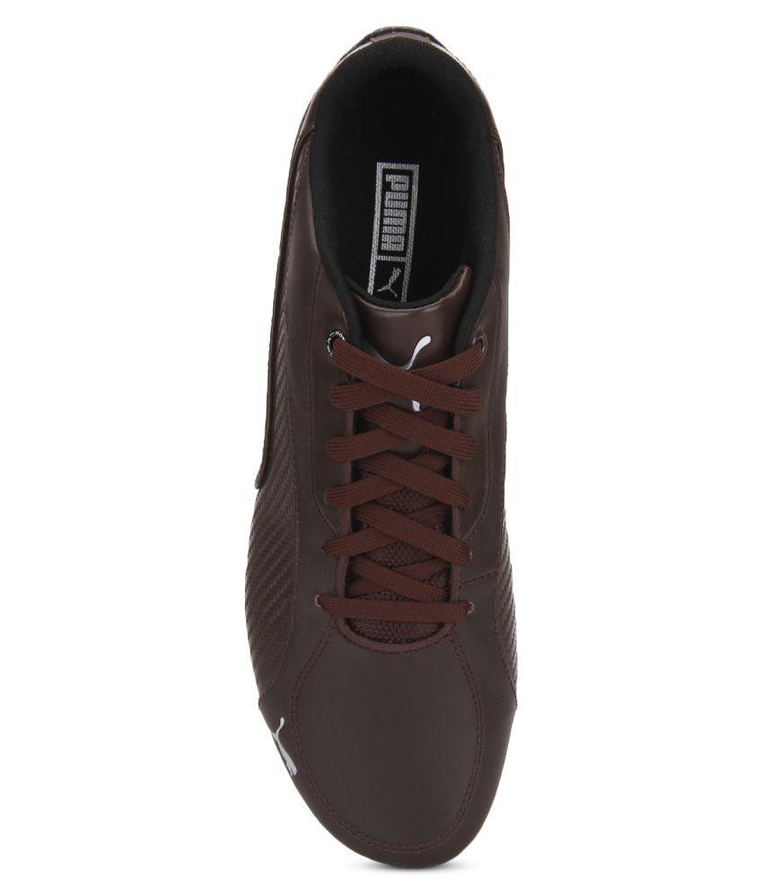 Puma Drift Cat 5 Carbon Brown Casual Shoes - Buy Puma Drift Cat 5 ... 180421dc1