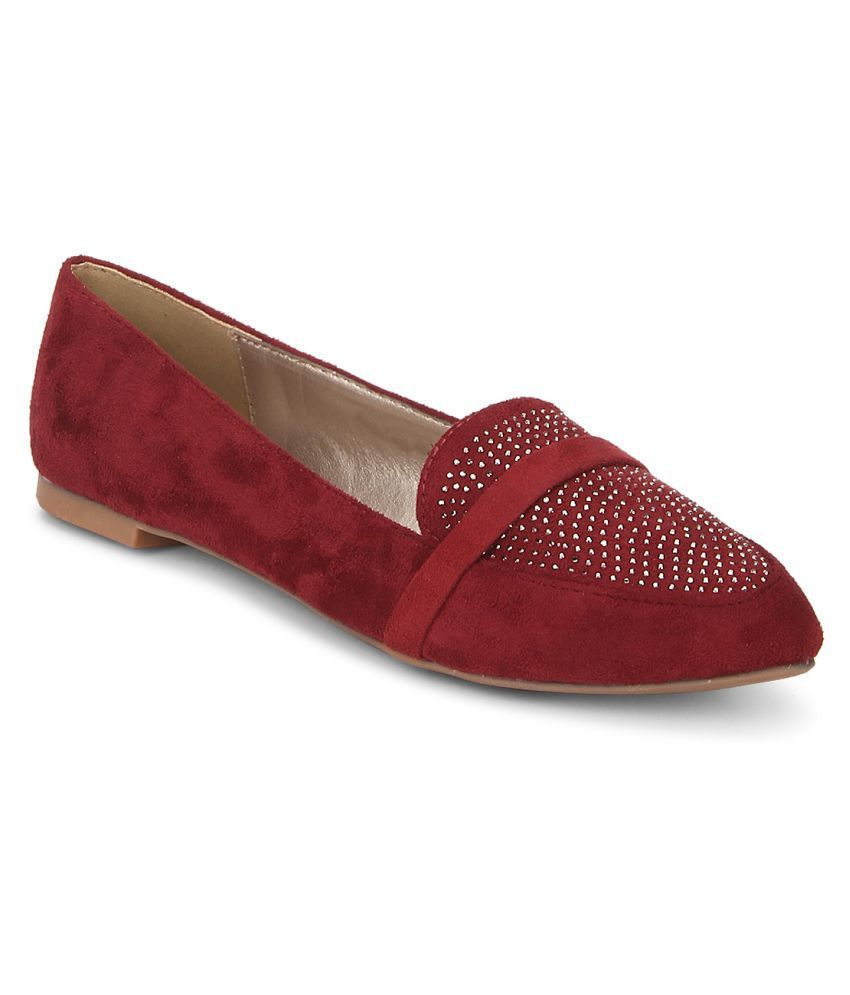 Carlton London Maroon Flats