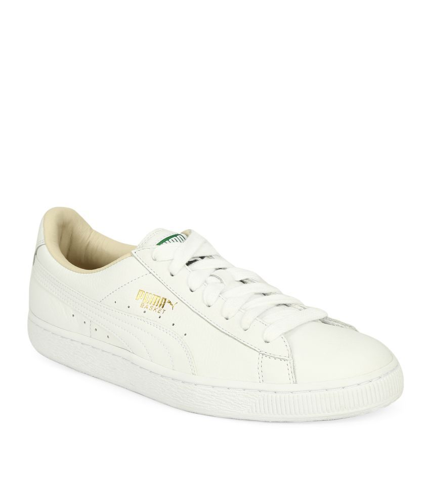 Puma Basket Classic Lfs White Casual Shoes - Buy Puma Basket Classic Lfs  White Casual Shoes Online at Best Prices in India on Snapdeal fdd63a1c6