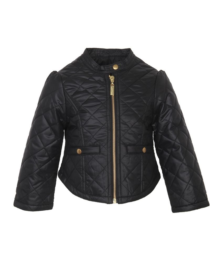 United Colors Of Benetton Black Girls Jackets