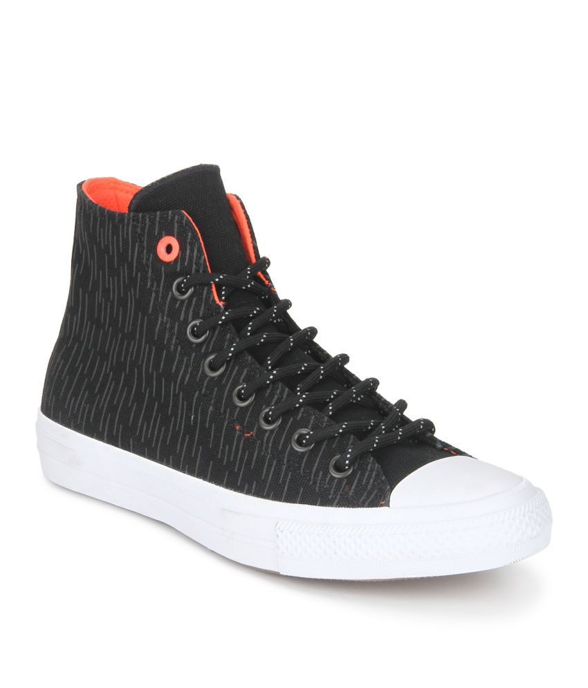 Converse 153532C Sneakers Black Casual Shoes - Buy Converse 153532C Sneakers  Black Casual Shoes Online at Best Prices in India on Snapdeal 4aa04eec1