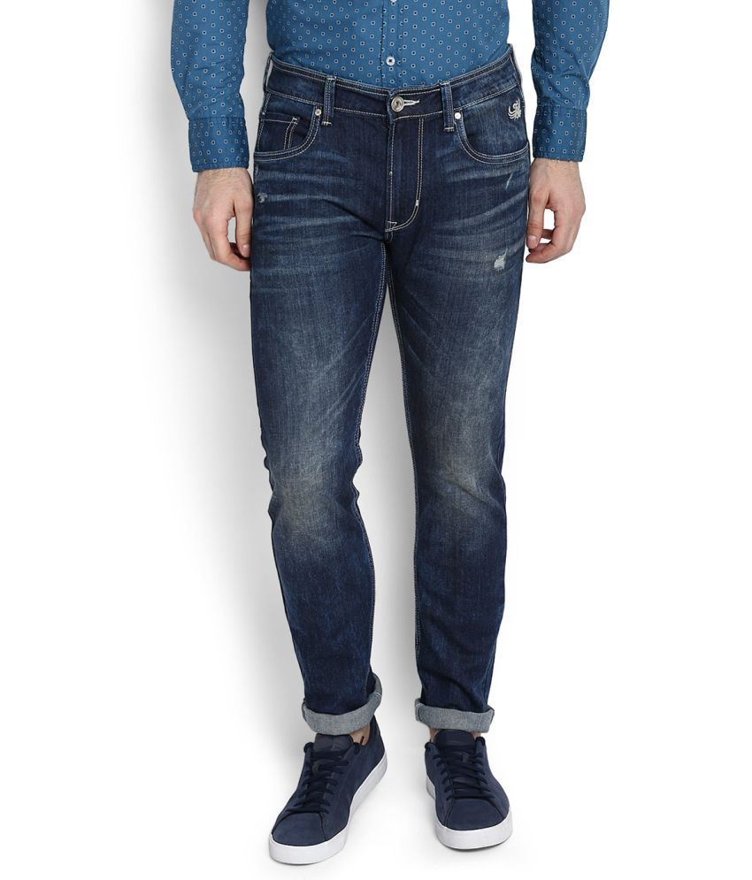 Flying Machine Blue Slim Jeans