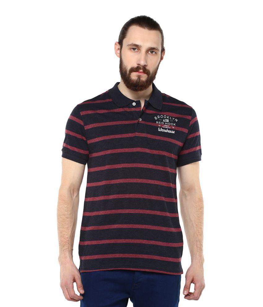 Fox Blue High Neck T-Shirt