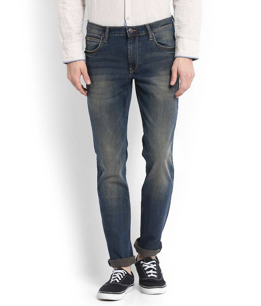 Lee Blue Skinny Jeans