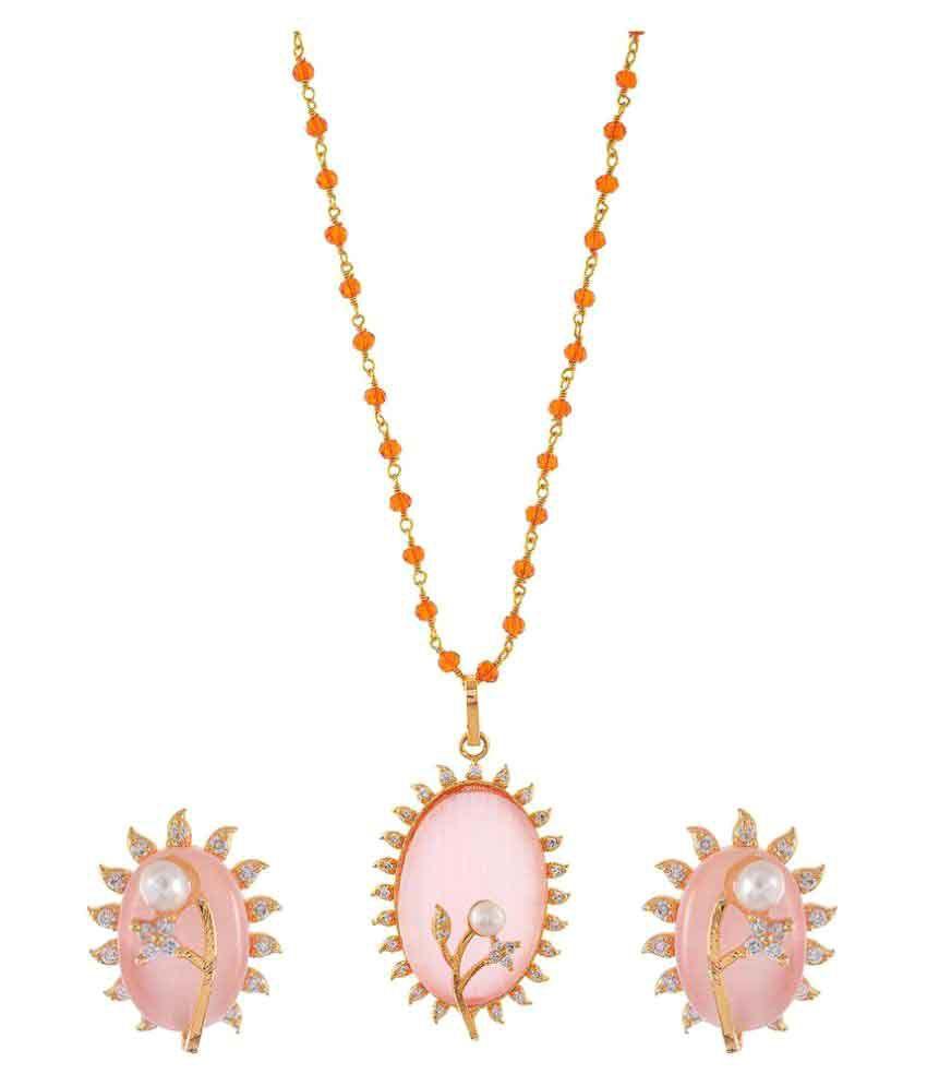 Smack Golden Necklace Set