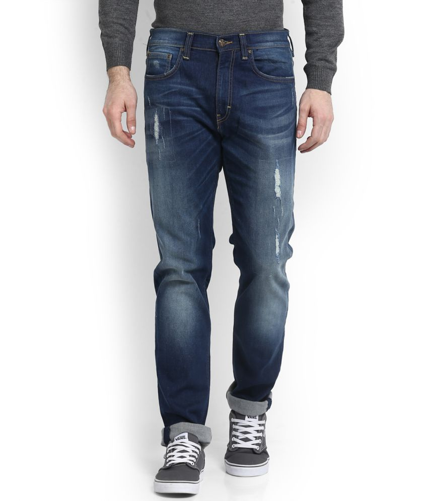 Lee Blue Relaxed Jeans