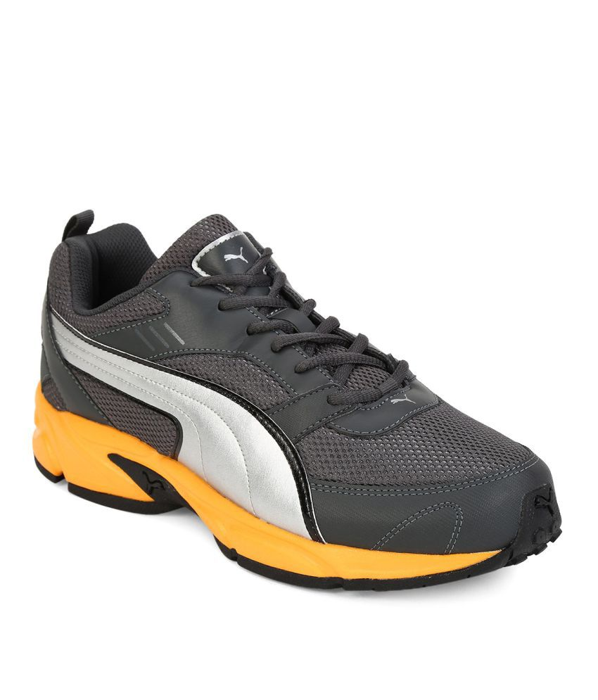d4289e06ed7a8c Puma Atom Fashion III DP Gray Running Shoes - Buy Puma Atom Fashion III DP  Gray Running Shoes Online at Best Prices in India on Snapdeal