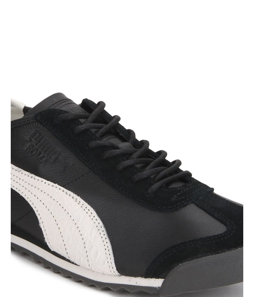 Puma Roma OG Citi Series Black Casual Shoes - Buy Puma Roma OG Citi ... b8527ec40